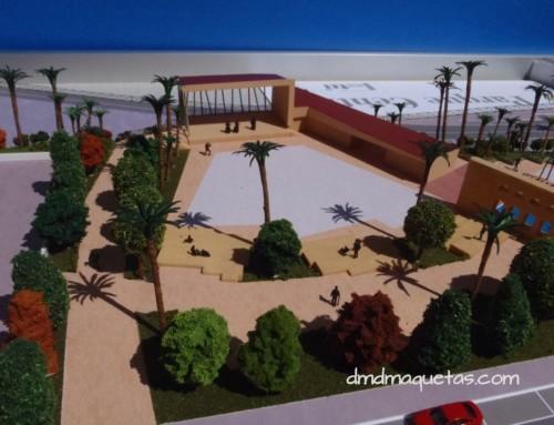 Maqueta del Parque Central de Benahadux