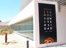 Exposición 20 Aniversario de la Universidad de Almería.