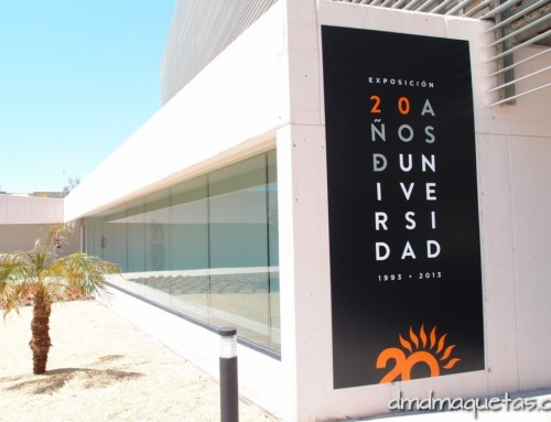Exposición 20 Aniversario de la Universidad de Almería