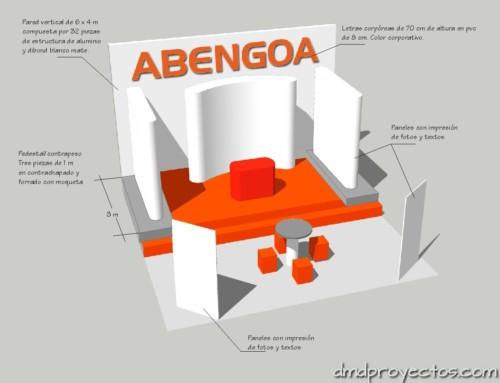 Stand de ABENGOA para Feria Internacional IDA 2011