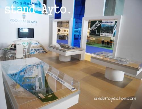 Stands y espacios expositivos